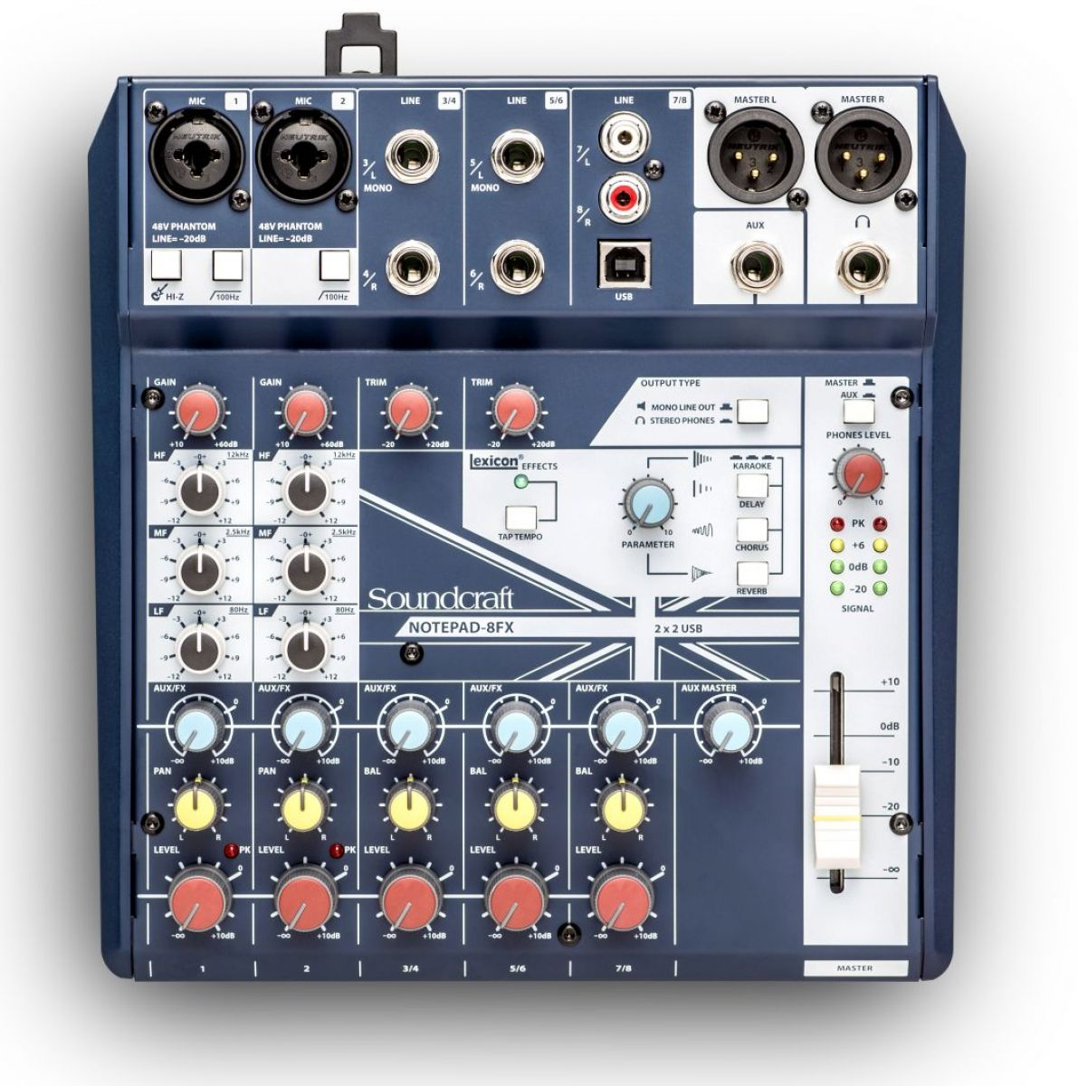 Soundcraft Notepad 8FX